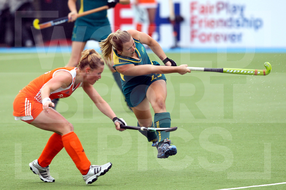Womens Champions Trophy, Amsterdam 2011.25062011 Day 1 Australia v Netherlands.Jade Warrender in action against the Netherlands.Credit: Grant Treeby.Editorial use only(No Archiving)Womens Champions Trophy, Amsterdam 2011.25062011 Day 1 Australia v Netherlands..Credit: Grant Treeby.Editorial use only(No Archiving)