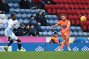 Ipswich Town's Alan Judge during the EFL Sky Bet Championship match between Blackburn Rovers and Ipswich Town at Ewood Park, Blackburn, England on 19 January 2019.