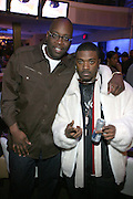 "Mike Kyser and Ray J at "" The P. Diddy presents Bad Boy Entertainment Night "" at Spotlight NYC featuring performances by Cherri Dennis and Vanity Kane on January 29, 2008"