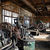 Redundant steel machinery