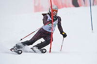 Lafoley Slalom at Gunstock 1st run ladies and men  March 5, 2011.
