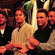 Sterrenplaybackshow 1998, Eric de Zwart, Wessel van Diepen, Jeroen Bos,