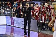DESCRIZIONE : Campionato 2014/15 Virtus Acea Roma - Giorgio Tesi Group Pistoia<br /> GIOCATORE : Paolo Moretti<br /> CATEGORIA : Allenatore Coach <br /> SQUADRA : Giorgio Tesi Group Pistoia<br /> EVENTO : LegaBasket Serie A Beko 2014/2015<br /> GARA : Dinamo Banco di Sardegna Sassari - Giorgio Tesi Group Pistoia<br /> DATA : 22/03/2015<br /> SPORT : Pallacanestro <br /> AUTORE : Agenzia Ciamillo-Castoria/GiulioCiamillo<br /> Predefinita :
