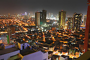 Philippines, Manilla, City views of Pasig river and Mandaluyong district.<br /> <br /> Photo: &copy; ZuteLightfoot