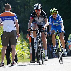 Brainwash Ladiestour Bunde-Berg en Terblijt beklimming Eyserbosweg Ellen van Dijk