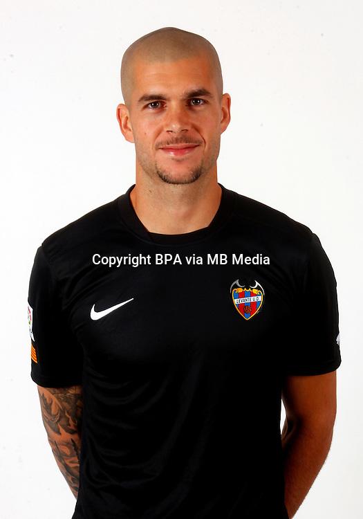Spain - Liga BBVA 2015-2016 / <br /> ( Levante U.D. ) - <br /> Ruben Ivan Martinez Andrade