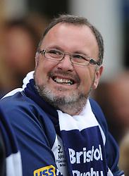 Bristol Rugby fan - Mandatory byline: Dougie Allward/JMP - 07966386802 - 10/10/2015 - RUGBY - Vallis Way -West Ealing,England - Ealing Trailfinders v Bristol Rugby - Greene King IPA Championship
