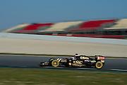 February 19-22, 2015: Formula 1 Pre-season testing Barcelona : Jolyon Palmer, Lotus F1