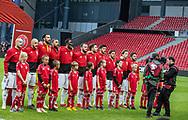 FOOTBALL: Team of Georgia during the EURO 2020 Qualifier match between Denmark and Georgia at Parken Stadium on June 10, 2019 in Copenhagen, Denmark. Photo by: Claus Birch / ClausBirchDK.