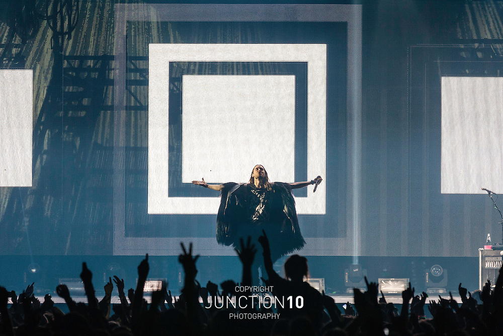 30 Seconds To Mars perform in concert at the NIA, Birmingham, United Kingdom<br /> Picture Date: 15 November, 2013