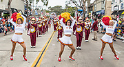 USC Cheerleaders at the Annual Balboa Island Parade