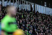 The East stand during the EFL Sky Bet League 2 match between Forest Green Rovers and Yeovil Town at the New Lawn, Forest Green, United Kingdom on 16 February 2019.