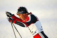 Langrenn, 22. november 2003, verdenscup Beitostølen, Anders Aukland, Norge