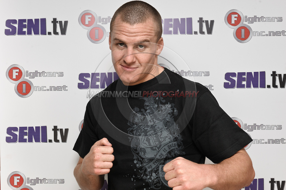A portrait of mixed martial arts athlete Paul Kelly