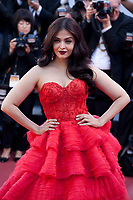 Aishwarya Rai at the 120 Beats per Minute (120 Battements Par Minute) gala screening,  at the 70th Cannes Film Festival Saturday 20th May 2017, Cannes, France. Photo credit: Doreen Kennedy