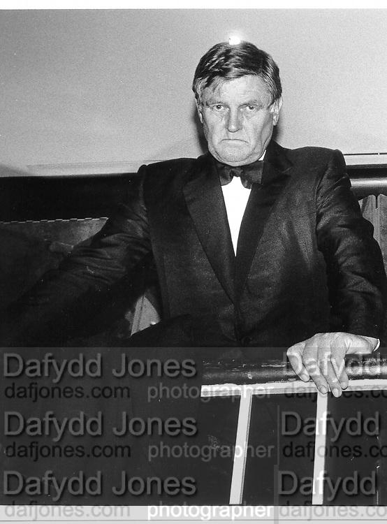 Sir Bernard Ashley. NY. 1989. © Copyright Photograph by Dafydd Jones 66 Stockwell Park Rd. London SW9 0DA Tel 020 7733 0108 www.dafjones.com
