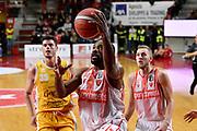 Josh Mayo<br /> Openjobmetis Varese - Carpegna Prosciutto Basket Pesaro<br /> Basket Serie A LBA 2019/2020<br /> Varese 15 December 2019<br /> Foto Mattia Ozbot / Ciamillo-Castoria
