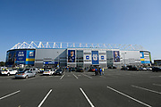during the EFL Sky Bet Championship match between Cardiff City and Middlesbrough at the Cardiff City Stadium, Cardiff, Wales on 21 September 2019.