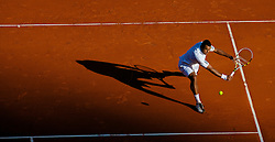 MONTE-CARLO, MONACO - Wednesday, April 14, 2010: Jo-Wilfried Tsonga (FRA) during the Men's Doubles 1st Round match on day three of the ATP Masters Series Monte-Carlo at the Monte-Carlo Country Club. (Photo by David Rawcliffe/Propaganda)