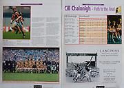 All Ireland Senior Hurling Championship Final,.12.09.2004, 09.12.2004, 12th September 2004,.Senior Cork 0-7, Kilkenny 0-9,.Minor Kilkenny 1-18 ,  Galway 3-12 (draw),.12092004AISHCF,.Langtons, John Street, Kilkenny, Hotel, Restaurant, .