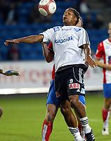 Fotball, 17. september  2006 , Tippeligaen , <br /> Lyn - Odd 1-1, <br /> <br /> Olof Hviden Watson, Odd