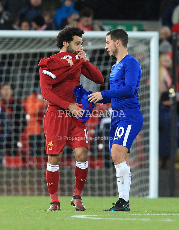 ¿Cuánto mide Mohamed Salah? - Real height P171125-053-Liverpool-Chelsea