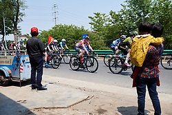 Nina Kessler (NED) at Tour of Chongming Island 2019 - Stage 2, a 126.6 km road race from Changxing Island to Chongming Island, China on May 10, 2019. Photo by Sean Robinson/velofocus.com