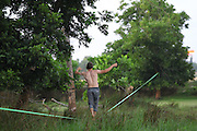 Slack rope training
