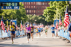 Boston Athletic Association 10K road race: Nina Caron