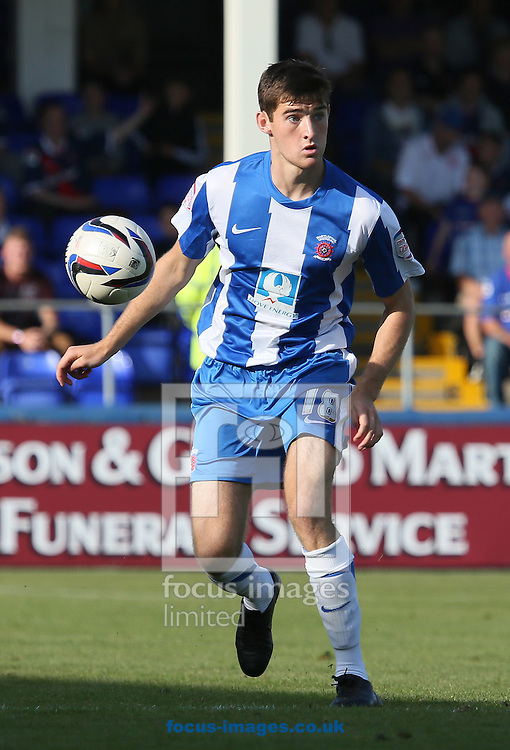 Picture by Paul  Gaythorpe/Focus Images Ltd +447771 871632.08/09/2012.Jack Baldwin of Hartlepool United during the npower League 1 match at Victoria Park, Hartlepool.