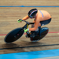 29-12-2019: Wielrennen: NK Baan: Alkmaar <br />Shanne Braspennincx pakt de titel op de 500 meter