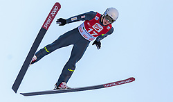 20.12.2015, Nordische Arena, Ramsau, AUT, FIS Weltcup Nordische Kombination, Skisprung, im Bild Antoine Gerard (FRA) // Antoine Gerard of France during Skijumping Qualification of FIS Nordic Combined World Cup, at the Nordic Arena in Ramsau, Austria on 2015/12/20. EXPA Pictures © 2015, PhotoCredit: EXPA/ JFK
