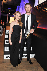 CHRIS HEMSWORTH winner of the GQ International breakthrouh Award and KYLIE MINOGUE at the GQ Men of The Year Awards 2012 held at The Royal Opera House, London on 4th September 2012.