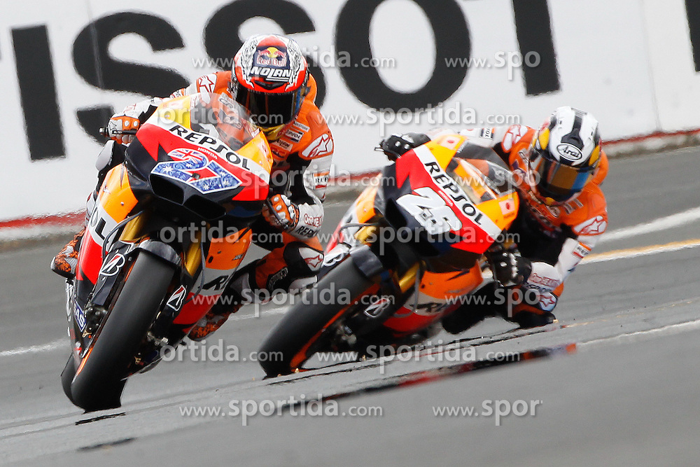 15.05.2011, Le Mans, FRA, MotoGP, Motomondiale Le Mans, im Bild Casey Stoner - Repsol Honda team .EXPA Pictures © 2011, PhotoCredit: EXPA/ InsideFoto/ Semedia +++++ ATTENTION - FOR AUSTRIA/AUT, SLOVENIA/SLO, SERBIA/SRB an CROATIA/CRO CLIENT ONLY +++++