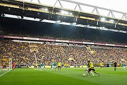 02.04.2016, Signal Iduna Park, Dortmund, GER, 1. FBL, Borussia Dortmund vs SV Werder Bremen, 28. Runde, im Bild Uebersichtsbild Innenraum // during the German Bundesliga 28th round match between Borussia Dortmund and SV Werder Bremen at the Signal Iduna Park in Dortmund, Germany on 2016/04/02. EXPA Pictures © 2016, PhotoCredit: EXPA/ Eibner-Pressefoto/ Schüler<br /> <br /> *****ATTENTION - OUT of GER*****