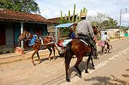 Traffic in Rodas, Cienfuegos Province, Cuba.