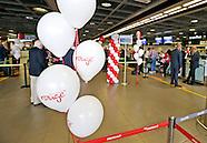 Air Canada Rouge inaugural flight Dublin Toronto.