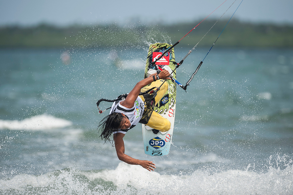 BINTAN ISLAND, INDONESIA - FEBRUARY 20:  Narapichit Pudla of Thailand in action during preview day of the 1st KTA Bintan at Argo Beach Resort on February 20, 2013 in Bintan Island, Indonesia.  (Photo by Xaume Olleros/Getty Images) *** Local Caption *** Narapichit Pudla