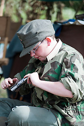 Reenactors take part in the Cleethorpes wartime Weekend<br />