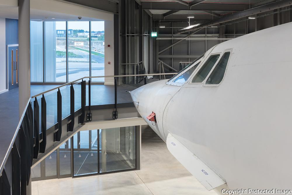 Aerospace Bristol, Concorde Building. June 2017. Architect: Purcell.