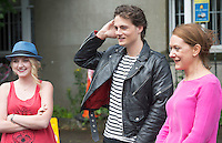 07/07/2015 REPRO free <br />  World Premiere and opening film of the Galway Film Fleadh which runs till Sunday. Evanna Lynch, known worldwide for her role as Luna Lovegood  in the Harry Potter films will star in the title role as Emilyand newcomer George Webster   plays Arden and also Cathy Belton.<br /> Photo:Andrew Downes : XPOSURE