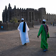 Great Mosque of Djenné. Djenné.Mopti region. Niger Inland Delta. Mali. West Africa.