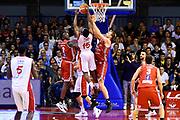 Nevela Garrett<br /> Grissin Bon Pallacanestro Reggio Emilia - VL Pesaro<br /> Lega Basket Serie A 2017/2018<br /> Reggio Emilia, 08/10/2017<br /> Foto A.Giberti / Ciamillo - Castoria