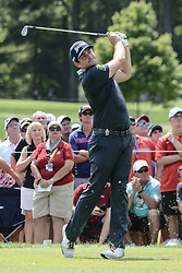 August 10, 2018 - Town And Country, Missouri, U.S - KEEGAN BRADLEY from Woodstock Vermont, USA tees off on hole number three during round two of the 100th PGA Championship on Friday, August 10, 2018, held at Bellerive Country Club in Town and Country, MO (Photo credit Richard Ulreich / ZUMA Press) (Credit Image: © Richard Ulreich via ZUMA Wire)