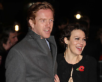 Damian Lewis; Helen McCrory Harry Potter And The Deathly Hallows Part 1 World Premiere, Leicester Square Gardens, London, UK, 11 November 2010: piQtured Sales: Ian@Piqtured.com +44(0)791 626 2580 (picture by Richard Goldschmidt)