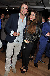 EMRHYS COOPER and AMALIA ? at West End Eurovision 2013 held at the  Dominion Theatre, London on 23rd May 2013.