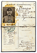 French identity card 1920s