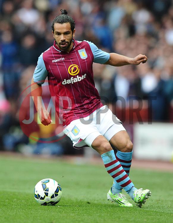 Aston Villa's Kieran Richardson  - Photo mandatory by-line: Joe Meredith/JMP - Mobile: 07966 386802 - 09/05/2015 - SPORT - Football - Birmingham - Villa Park - Aston Villa v West Ham United - Barclays Premier League