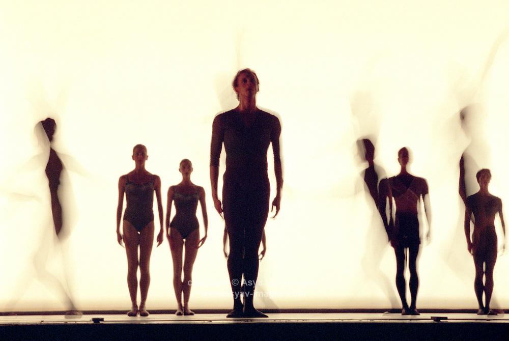 Edward Watson in Christopher Wheeldon's Tryst<br /> Music by: James MacMillan<br /> Lighting: Natasha Katz<br /> Set design by: Jean Marc Puissant