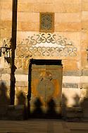Egypt. Cairo : madrassa of As Zahir BARQUQ and mosque ,  NM428, <br /> sharia Al Mu'izz LI DIN Allah street    islamic Cairo  +